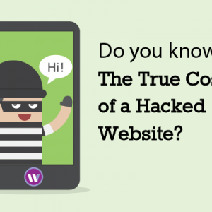 What should I do if my website has been hacked?