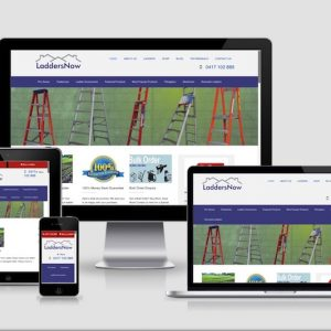 eCommerce website development for Ladders Now
