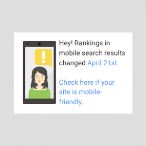 Google's Mobile Changes will affect you