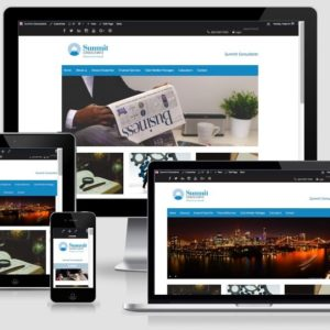 Summit Consultants – a Sydney Accountant's website development